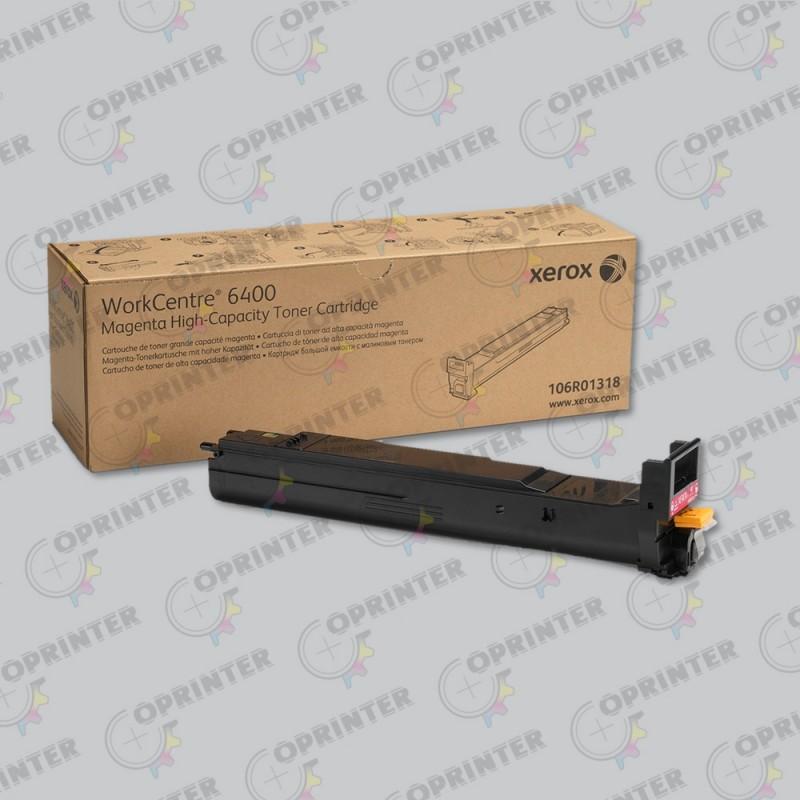 Тонер-картридж пурпурный повышенной емкости 106R01318