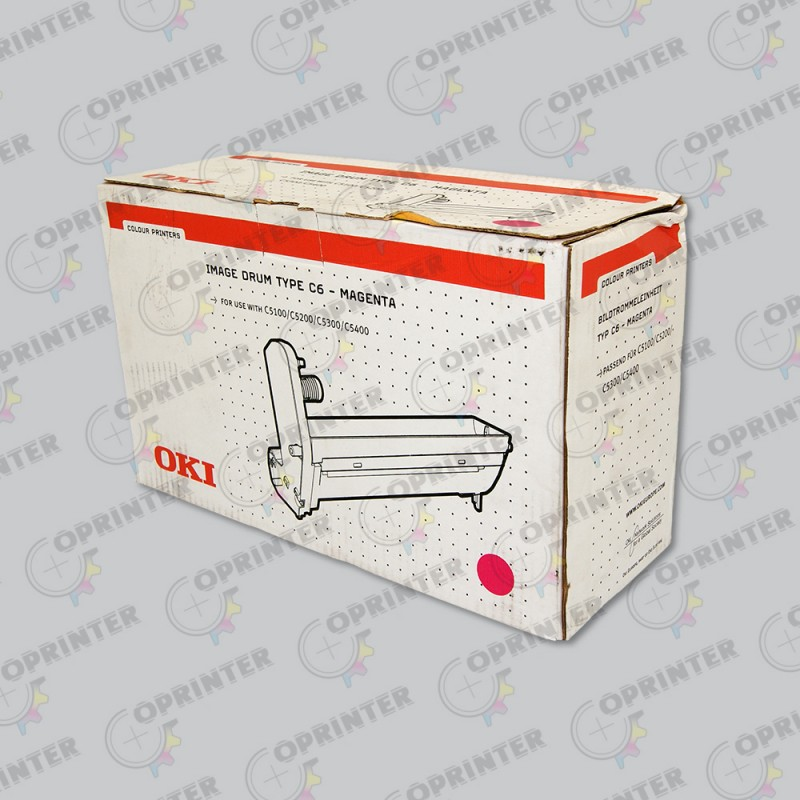 Type C6 Drum Yellow 17K (Thin Line Box, 42126605)