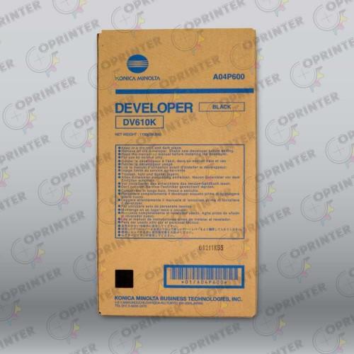 Девелопер DV-610K черный Konica Minolta A04P600