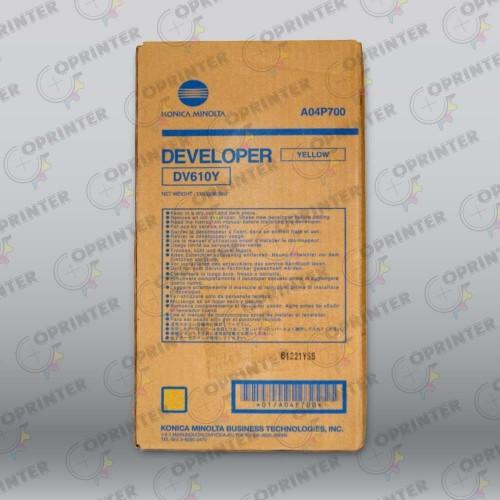 Девелопер DV-610Y желтый Konica Minolta A04P700