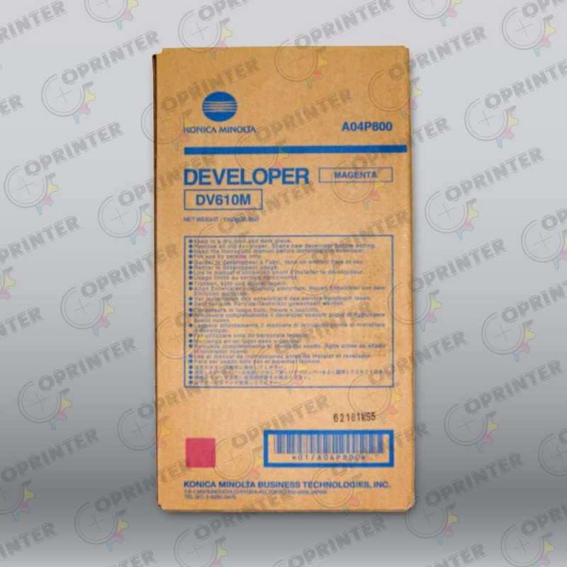 Девелопер DV-610M красный Konica Minolta A04P800