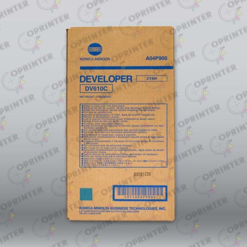Девелопер DV-610C синий Konica Minolta A04P900