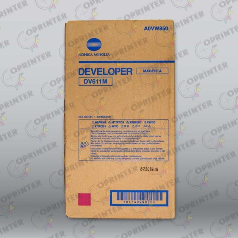Девелопер DV-611M красный Konica Minolta A0VW850