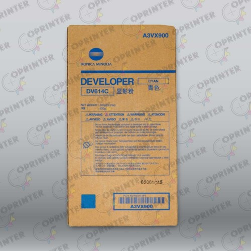 Девелопер DV-614C синий Konica Minolta A3VX900