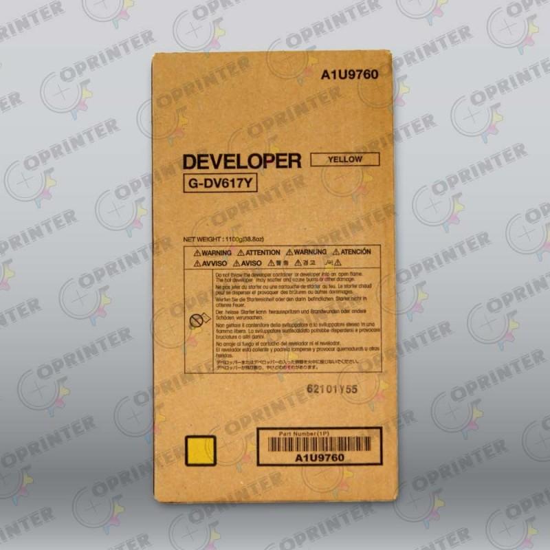 Девелопер DV-617Y желтый Konica Minolta A1U9760