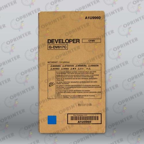 Девелопер DV-617C синий Konica Minolta A1U9960