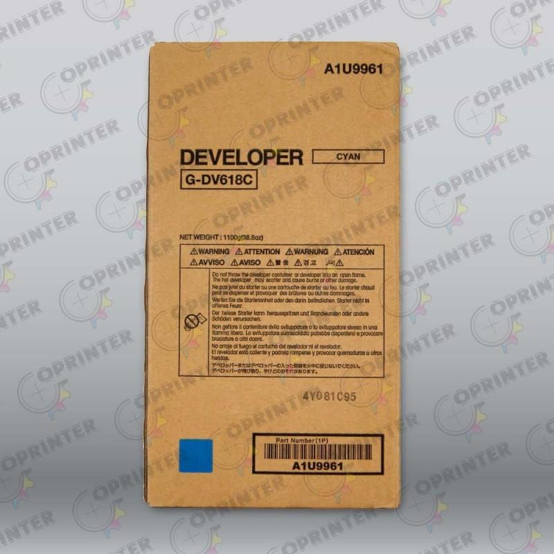 Девелопер DV-618C синий Konica Minolta A1U9961
