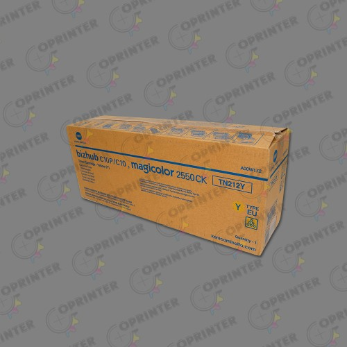 Konica TN-212 Toner Ctg Yellow A00W172