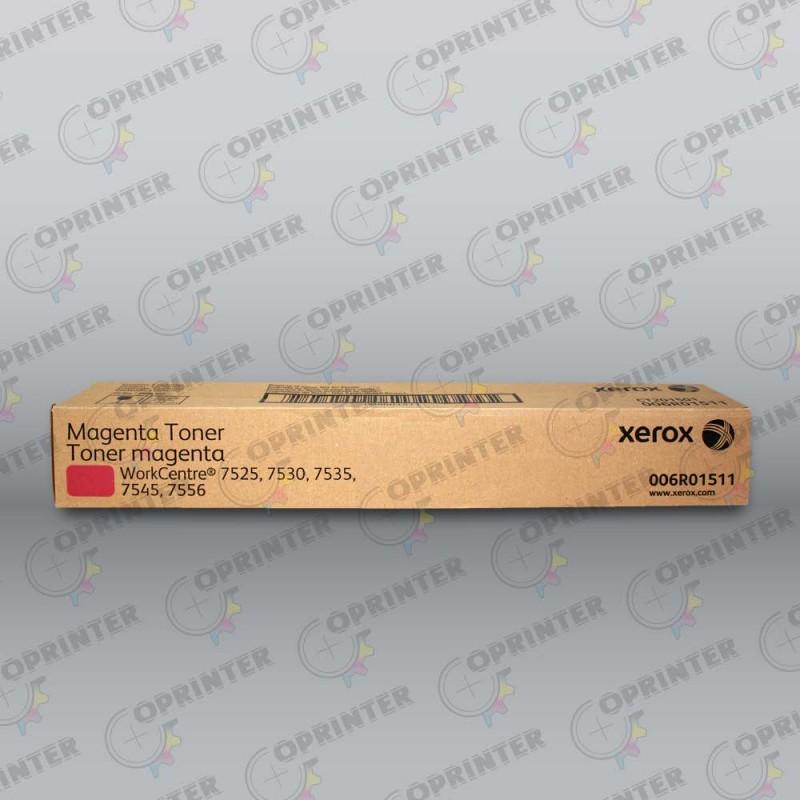 Тонер-картридж красный Xerox